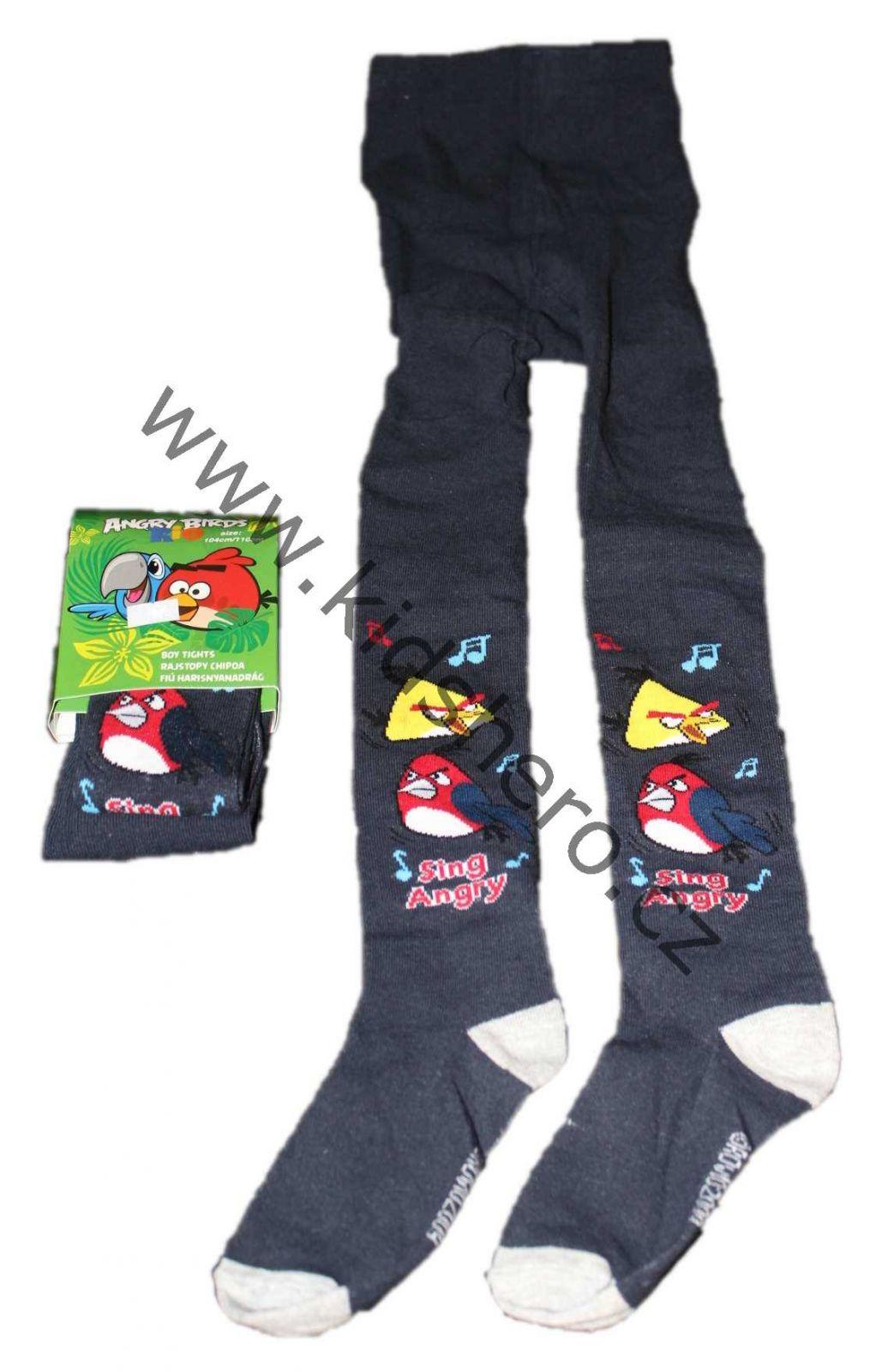 Dětské punčocháče ANGRY BIRDS punčochy chlapecké licenční oblečení Disney