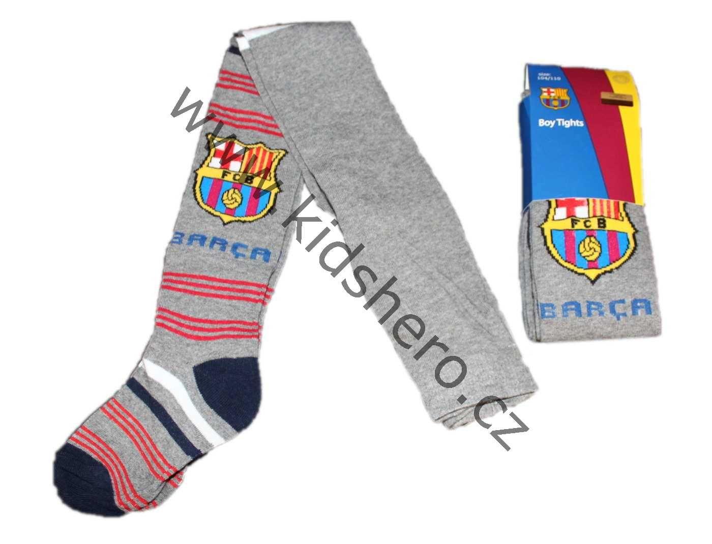 Dětské punčocháče FC BARCELONA, MESSI, BARCA punčochy chlapecké licenční oblečení