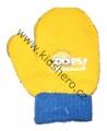 Rukavice palčáky - MIMONI - žluté