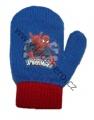 Rukavice palčáky - SPDERMAN- modro-červené