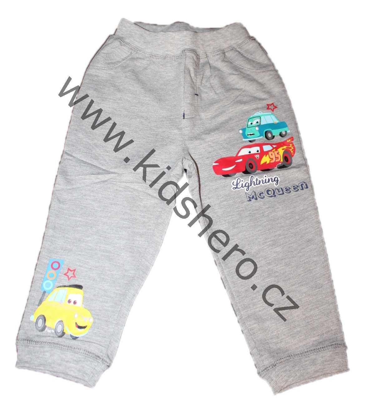 Dětské tepláky CARS chlapecké licenční tepláky Disney