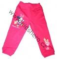 Tepláky Minnie - růžové
