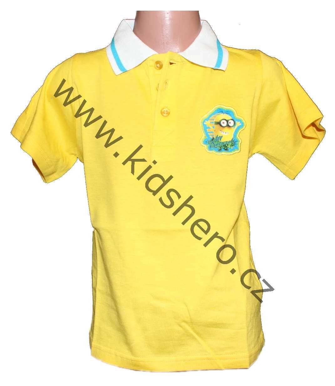 Dětské triko MIMONI tričko chlapecké licenční Despicable Me