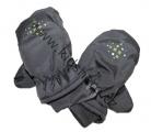 Dětské zimní rukavice - palčáky YDI - šedo-zelené