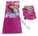 Šátek, nákrčník - FROZEN - fialový