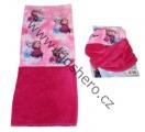 Šátek, nákrčník - FROZEN - růžový 2