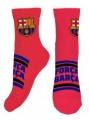 Ponožky FC BARCELONA - červené