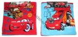 Ručníky na ruce CARS - 2 ks -červený a modrý