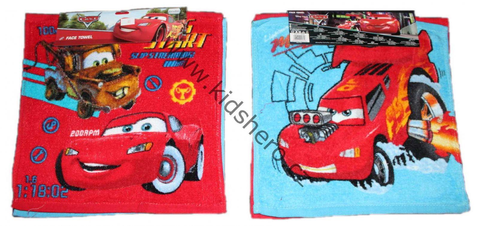 Ručníky na ruce CARS, ručník s auty - 2 ks Disney