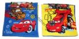 Ručníky na ruce CARS - 2 ks -modrý a žlutý