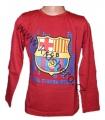Zobrazit detail - Triko dlouhý rukáv FC BARCELONA - červené