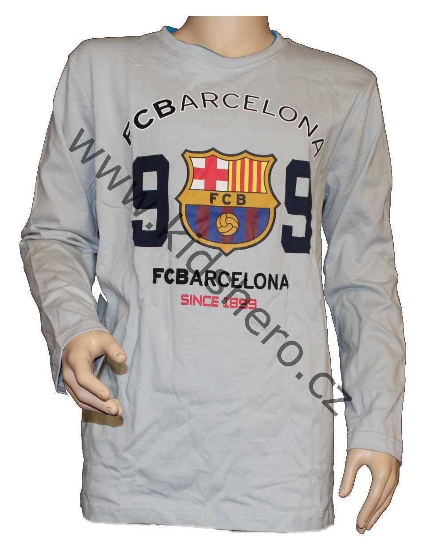 Triko dlouhý rukáv FC BARCELONA tričko Barca