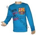Triko dlouhý rukáv FC BARCELONA - modré 2