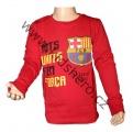 Triko dlouhý rukáv FC BARCELONA - červené 2