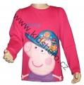 Triko dlouhý rukáv PEPPA PIG - růžové 2