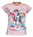 Triko krátký rukáv My little Pony - sv.růžové