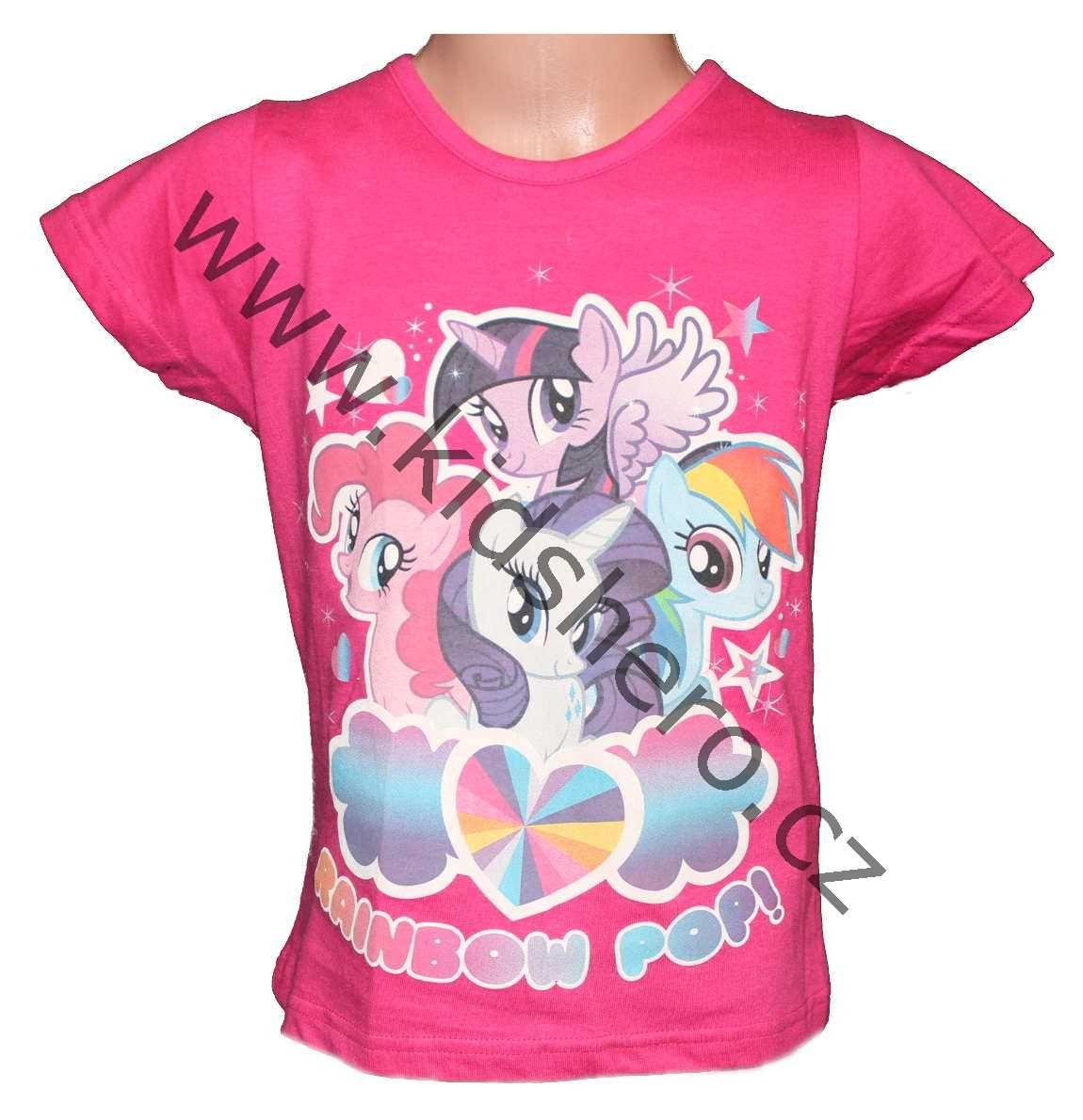 Triko tričko krátký rukáv My little pony dívčí triko Disney