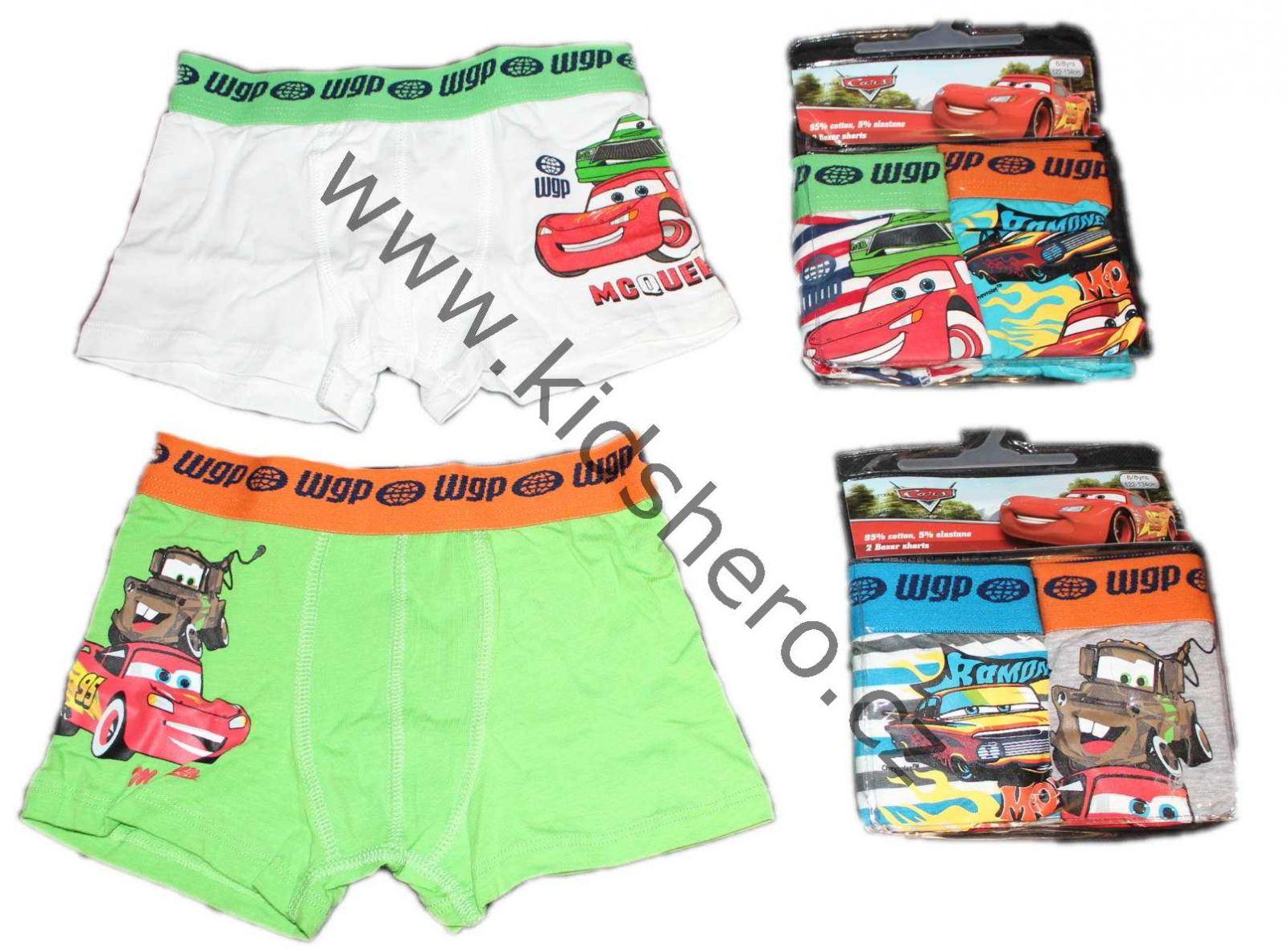 chlapecké boxerky s auty, boxerky cars, trenky cars, trenkoslipy Disney