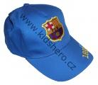 Kšiltovka FC BARCELONA - velká - sv.modrá