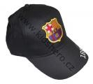 Kšiltovka FC BARCELONA - černá