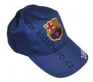 Kšiltovka FC BARCELONA - velká - tm.modrá