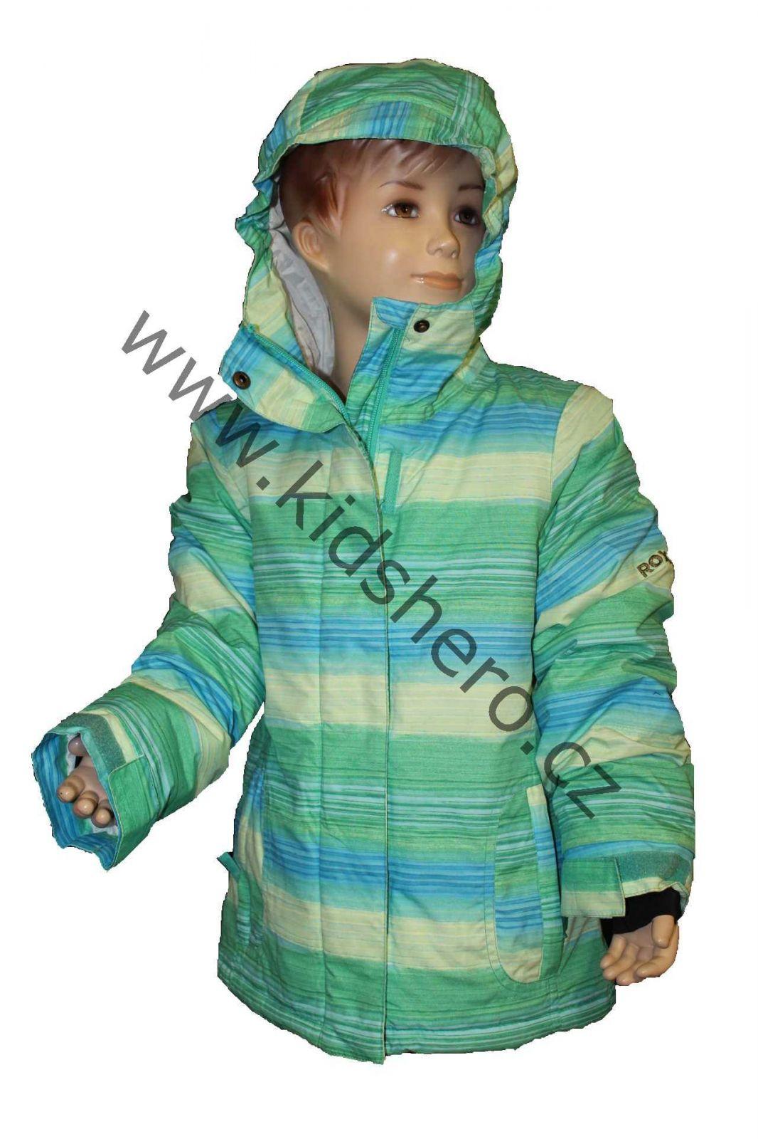 Dětská lyžařská bunda, dětská zimní bunda ROXY