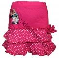 Bavlněná sukně MINNIE - tm.růžová
