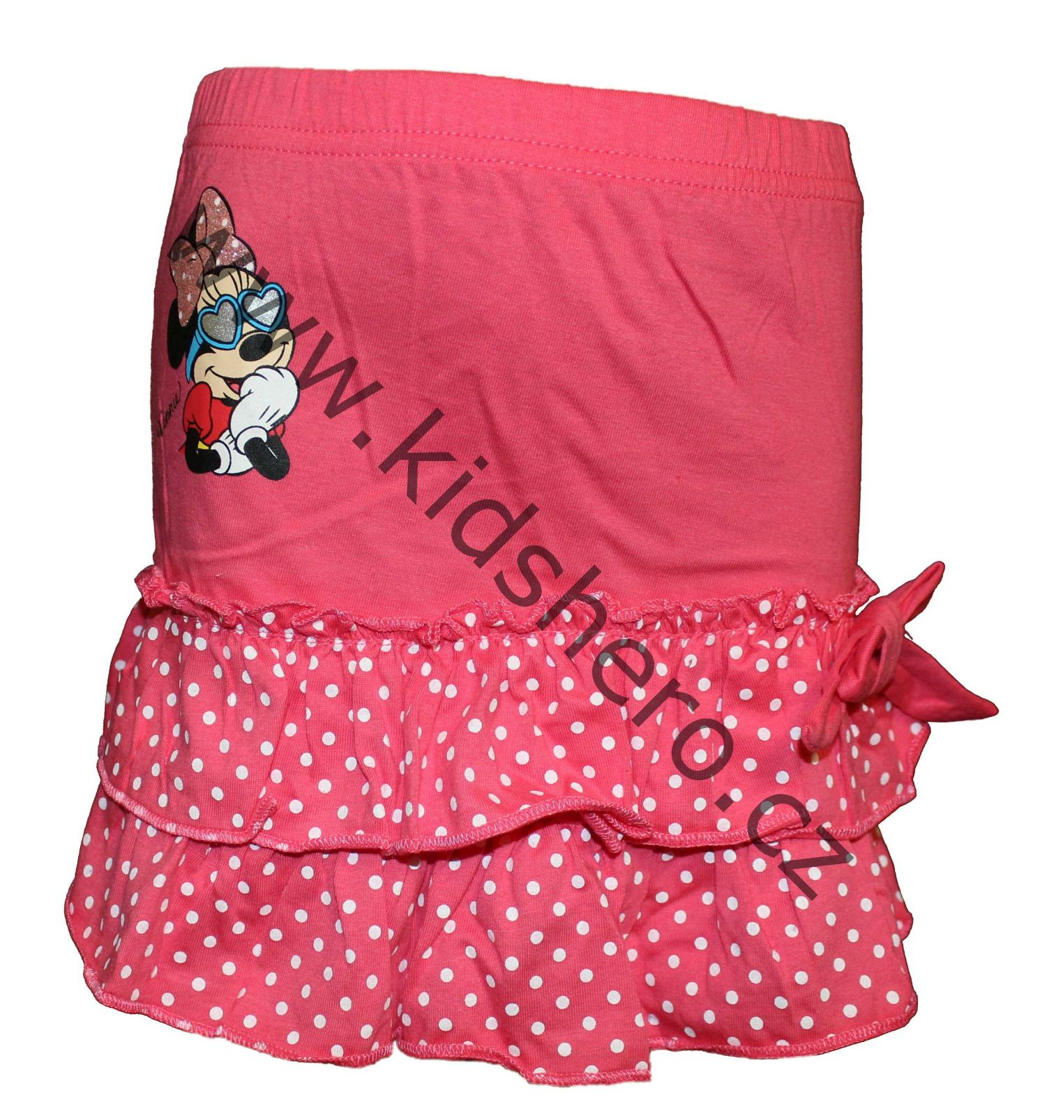Dětská sukně Minnie, dívčí bavlněná sukně Minnie, sukýnka Disney