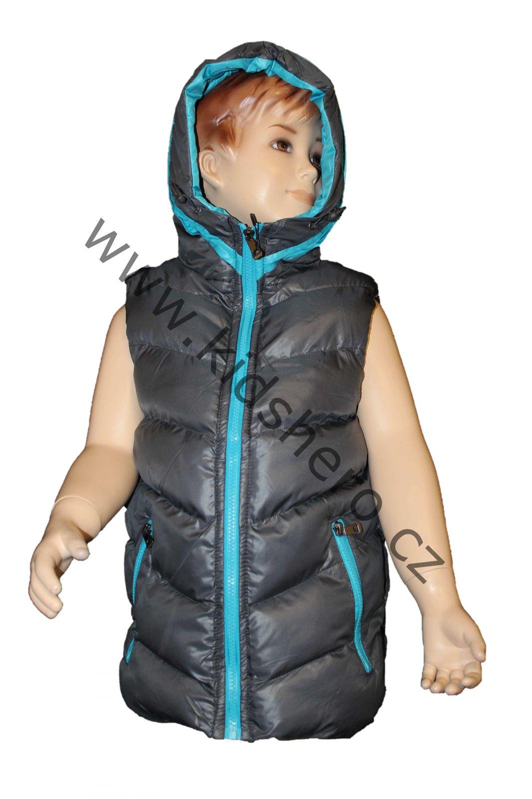 Dětská vesta, prošívaná vesta, vestička SEAGULL