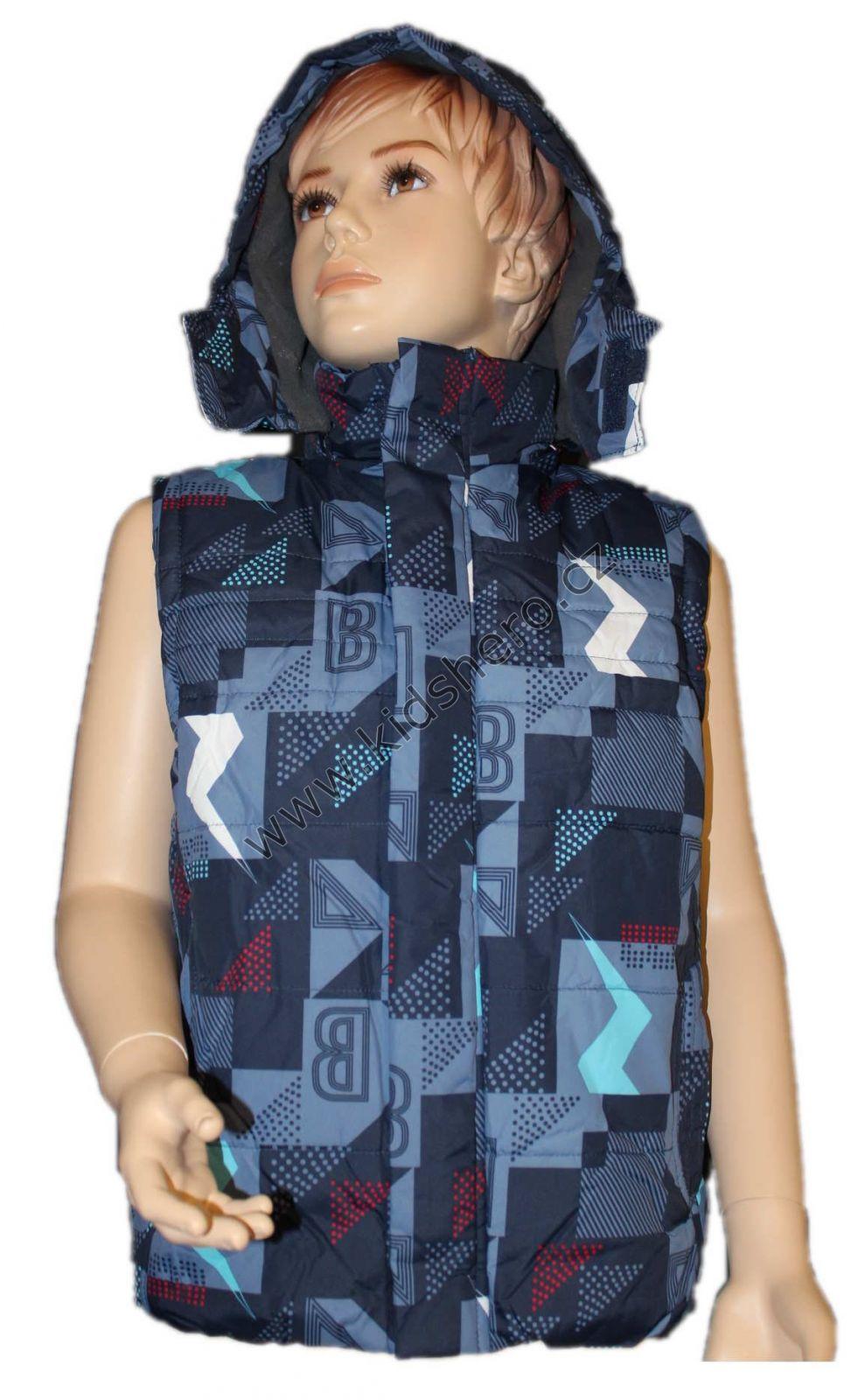 Dětská vesta, zateplená vesta GRACE