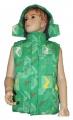 Dětská vesta GRACE-velká - zelená