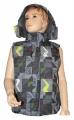 Dětská vesta GRACE-velká - šedá