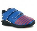 Dětské boty, sportovní boty ADIDAS - modro-oranžové