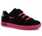 Dětské boty, sportovní boty LONSDALE-černo-růžové