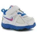 Dětské boty, sportovní boty NIKE - bílé s modrou