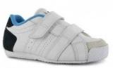 Dětské boty, sportovní boty LONSDALE- bílo-modré