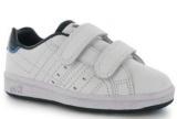 Dětské boty, sportovní boty LONSDALE Leyton Velcro - bílé