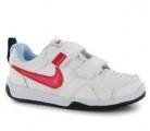 Dětské boty, sportovní boty NIKE - bílo-růžové