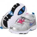 Dětské boty, sportovní boty NIKE - stříbrné