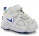 Dětské boty, sportovní boty NIKE - bílo-modré