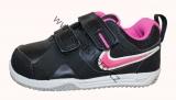 Dětské boty, sportovní boty NIKE - černo-růžové 2