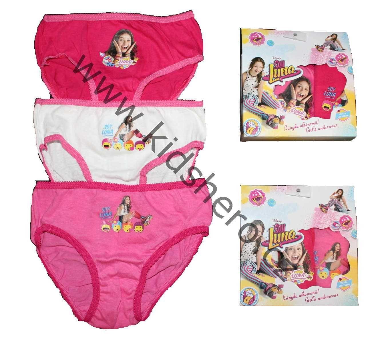Dětské kalhotky SOY LUNA, dívčí kalhotky LUNA Disney