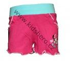 Dívčí bavlněné kraťasy Minnie - růžové