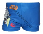 Plavky STAR WARS boxerky - tm.modré