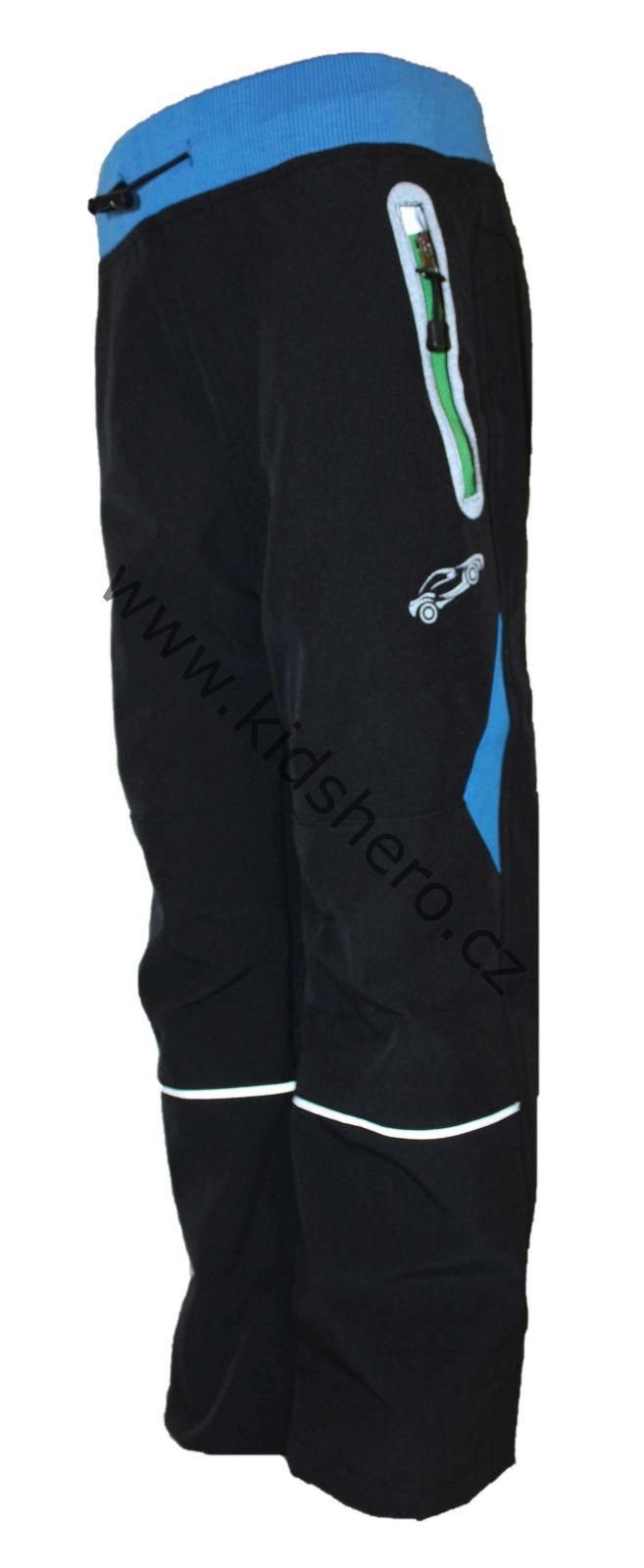 Dětské softshellové kalhoty KUGO, jarní kalhoty, podzimní kalhoty