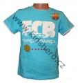 Triko krátký rukáv FC BARCELONA - sv.modré