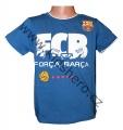 Triko krátký rukáv FC BARCELONA - tm.modré