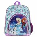 Dětský batoh FROZEN - fialový s vločkami