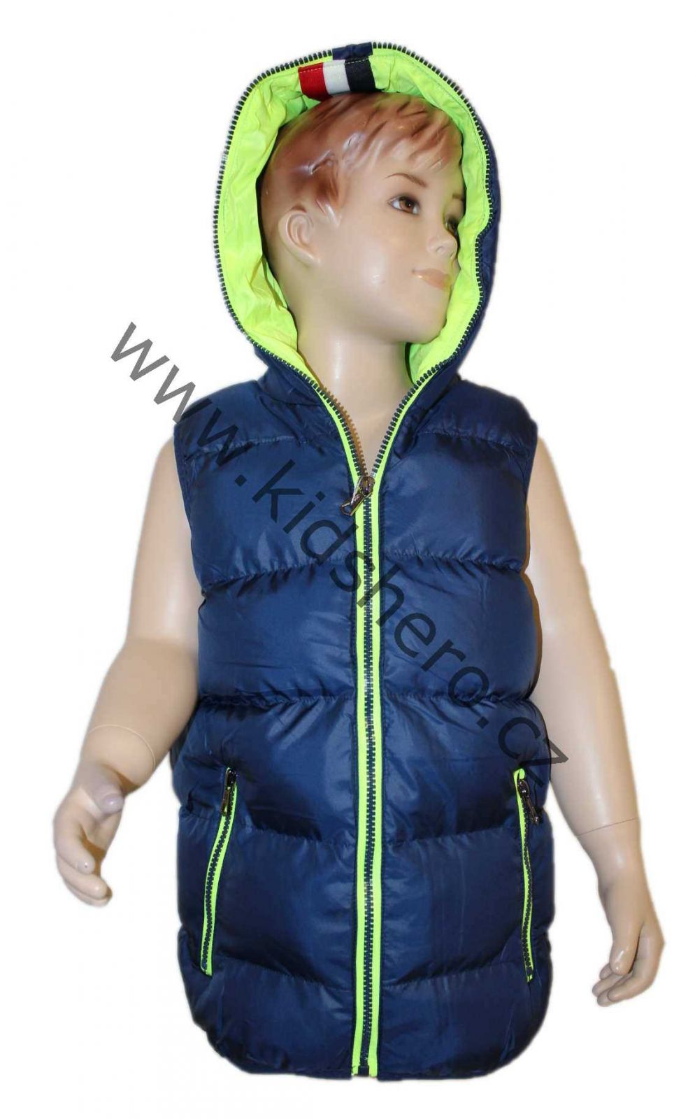 dětská vesta, prošívaná vesta SEAGULL