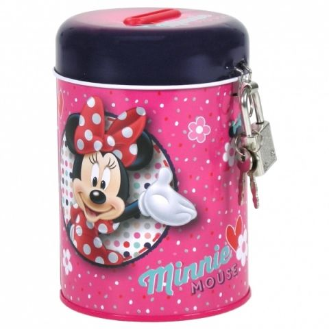 Kasička Minnie, pokladnička Disney, Minnie